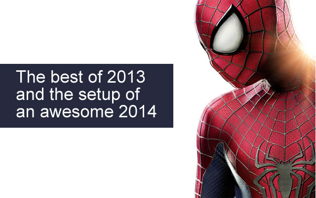 The best of 2013 from Hollywood and setting up a super 2014