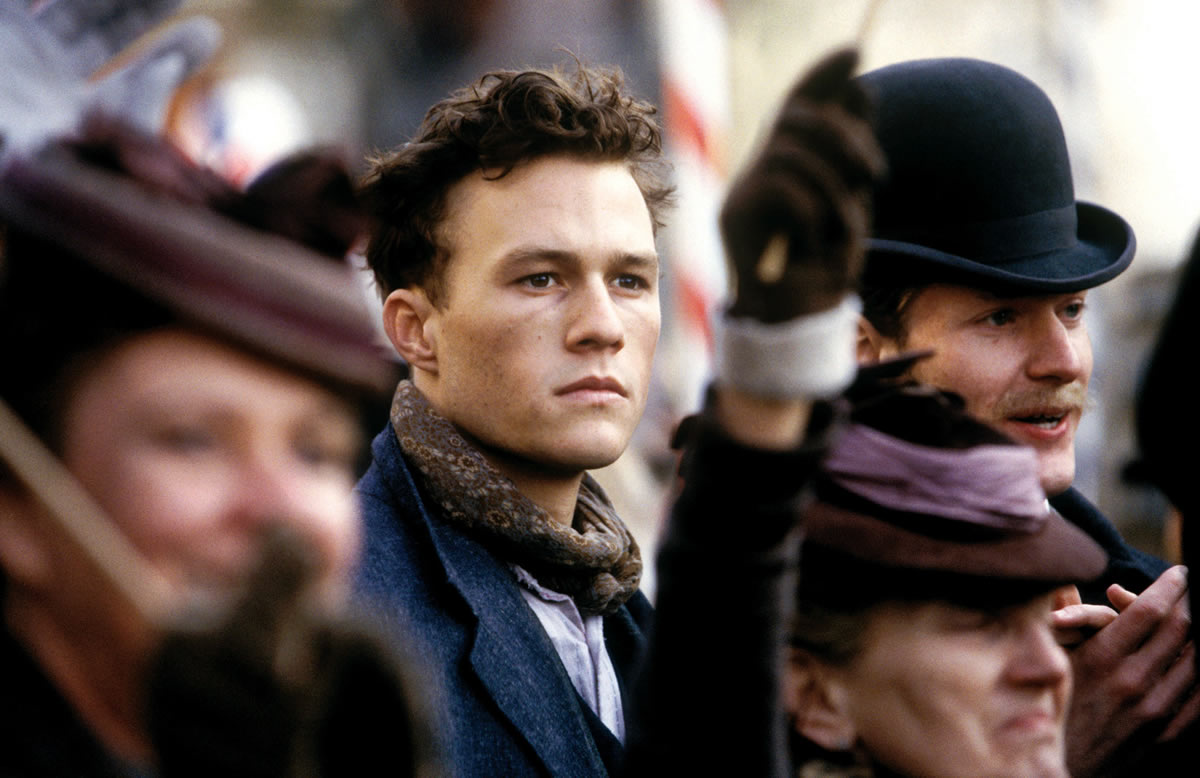 The late Heath Ledger in The Four Feathers Copyright: (c) Paramount Pictures and Miramax Films Photography Credit: Alex Bailey, Jaap BuitendijkThe late Heath Ledger in The Four Feathers Copyright: (c) Paramount Pictures and Miramax Films Photography Credit: Alex Bailey, Jaap Buitendijk