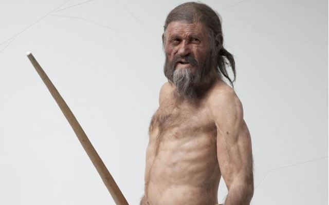 Ötzi the Iceman: Reconstruction by Kennis © South Tyrol Museum of Archaeology, Foto Ochsenreiter