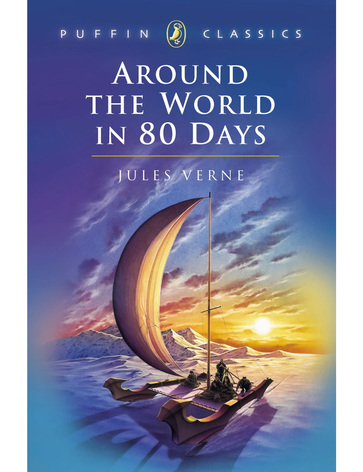 An original gap year! Around the World in Eighty Days by Jules Verne, Image courtesy of Penguin Random House