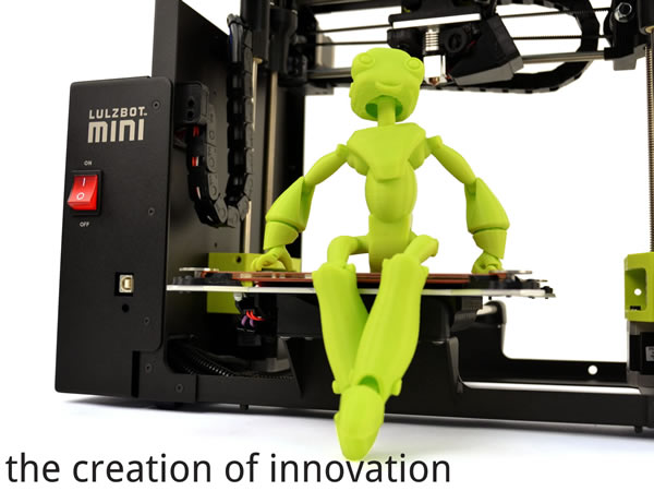 LulzBot and the creation of innovation image source - Aleph Objects Inc.