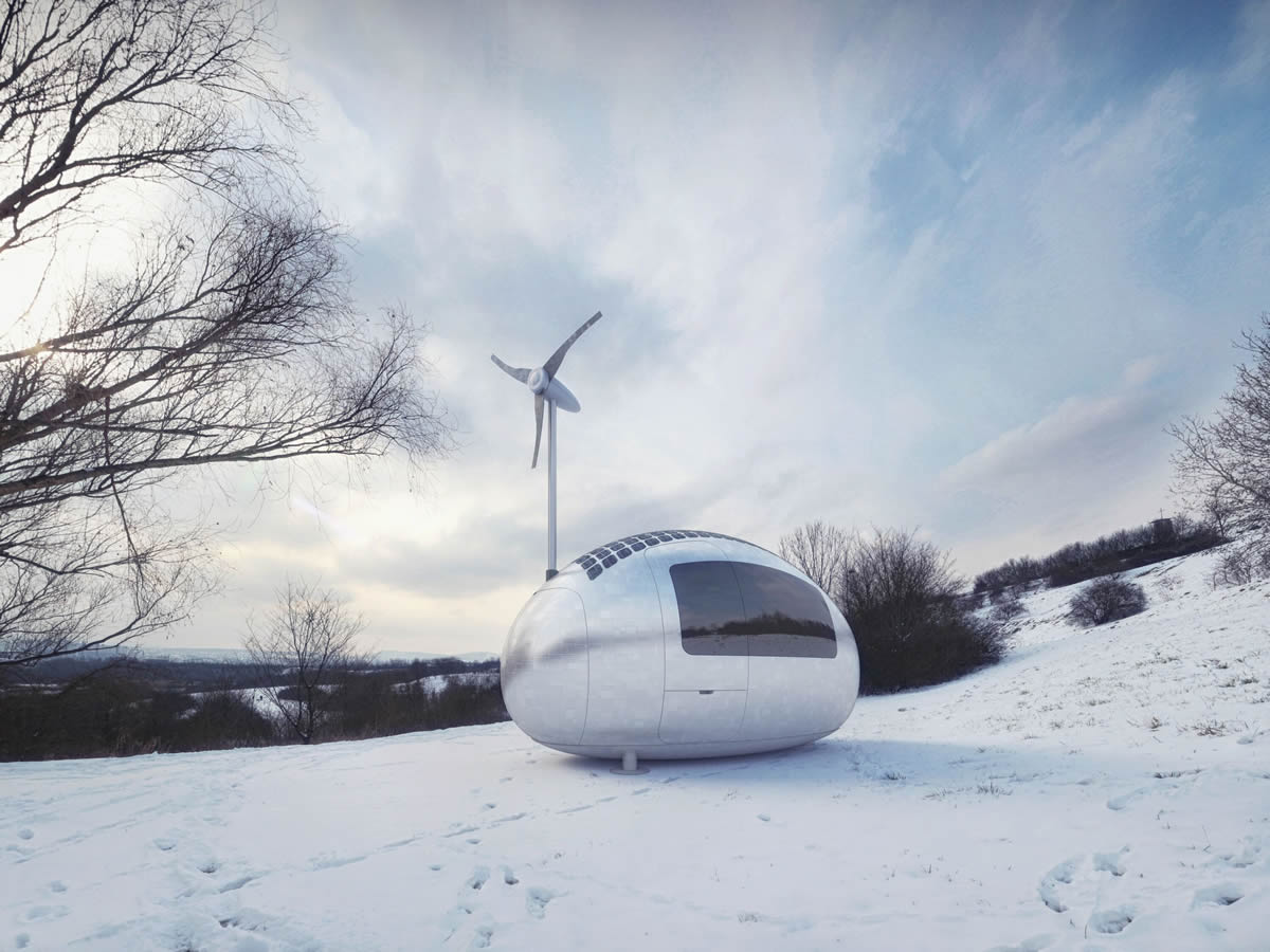 The architectural business of Ecocapsule with Igor Zacek - image courtesy of Ecocaps