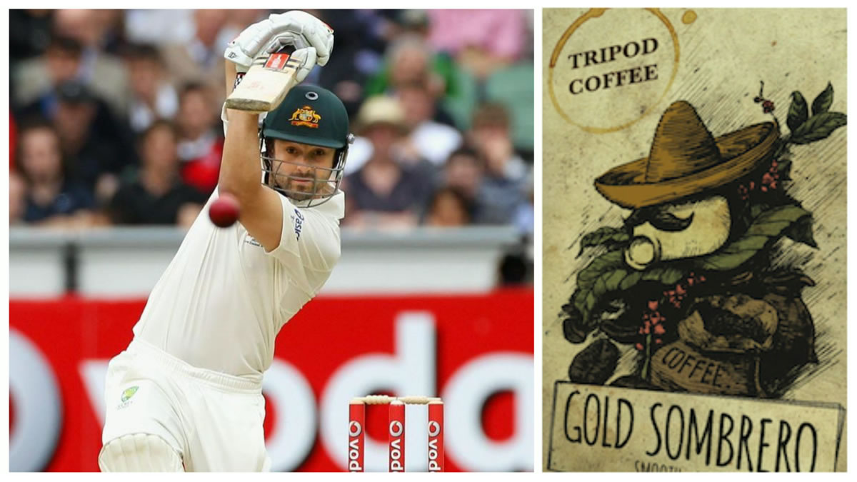 Edward Cowan: a cricket career with the aroma of a coffee business *Image Source: Ed Cowan