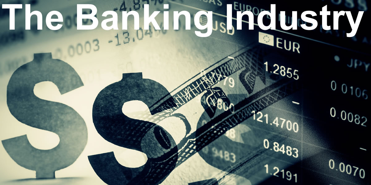 The Banking Industry *Image credit: Shutterstock, Inc Copyright: isak55
