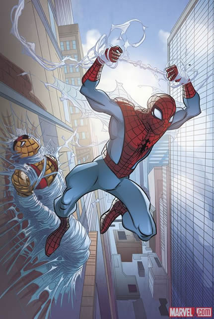 Spider-Man artwork courtesy of Marvel Comics