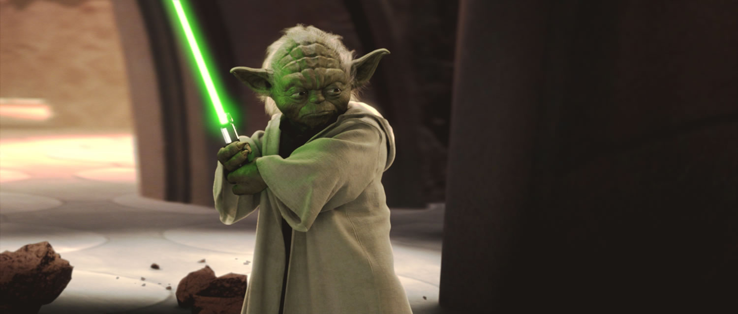 Yoda from Star Wars: Attack of the Clones (c) Lucasfilm Ltd.