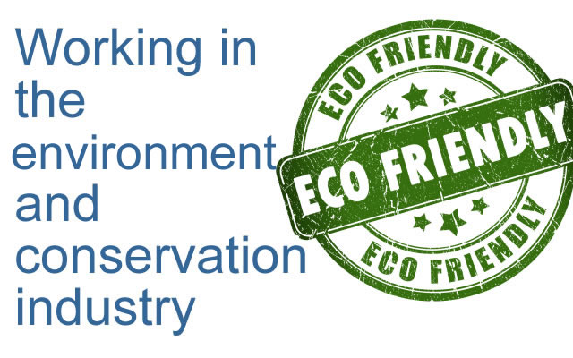 Environment and Conservation Industry - image source iStockphoto.com Copyright: arcady_31