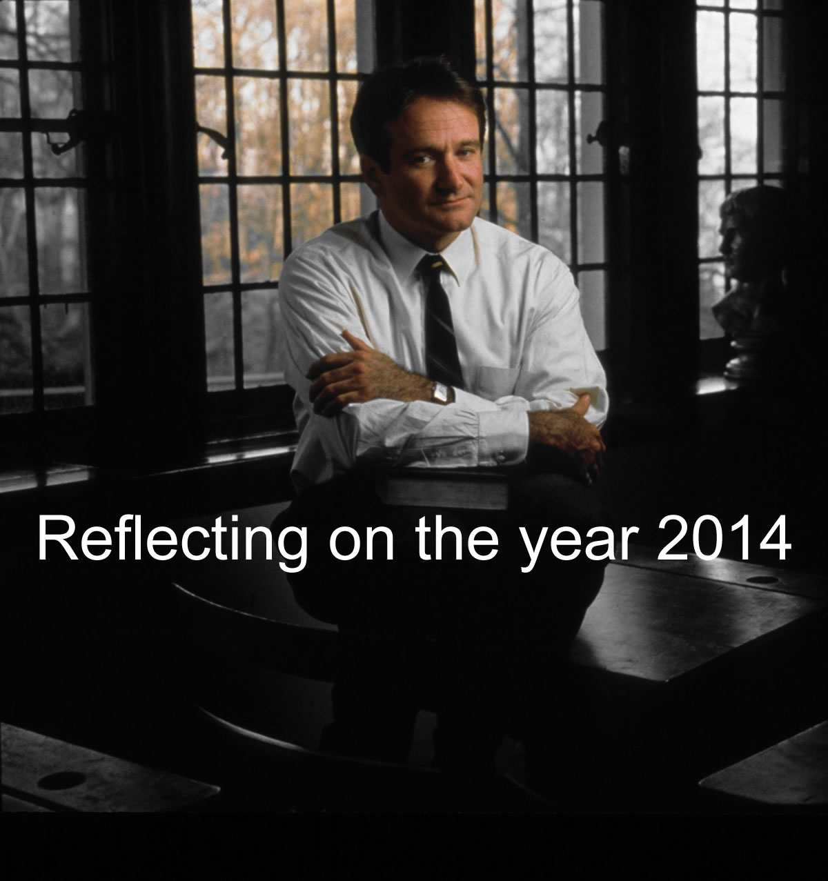 Reflecting on 2014 - Robin Williams in Dead Poets Society © Touchstone Pictures