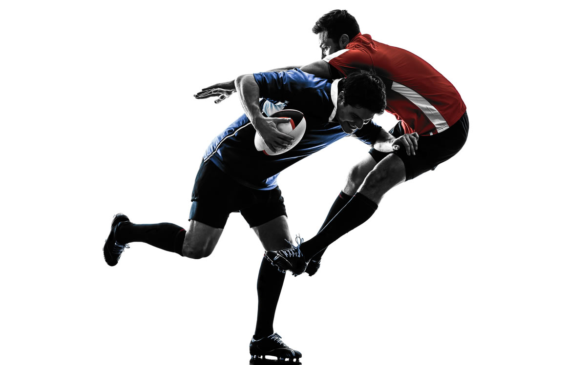 Rugby - Fitness and watch that tackle! Image credit and source - Copyright: ostill - Shutterstock, Inc