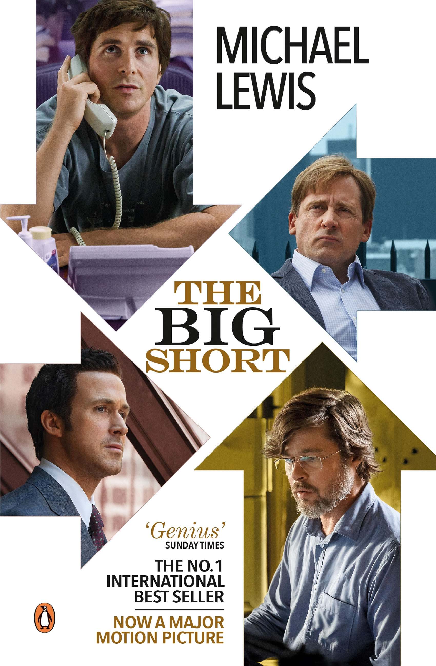 The Big Short by Michael Lewis - Image supplied by Penguin Random House