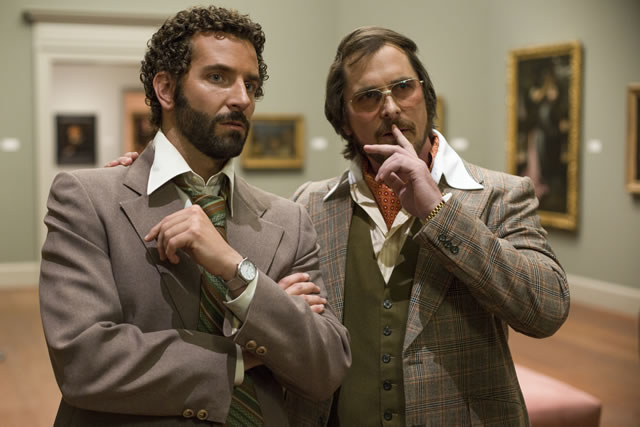 Christian Bale in American Hustle****