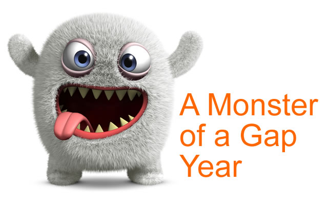 Gap Year Monster Image source: istockphoto.com Copyright: bertos