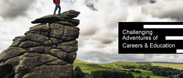 The Challenging Adventures of Careers and Education – 2013 adventures leading into an interesting 2014 *Image source: iStockphoto.com