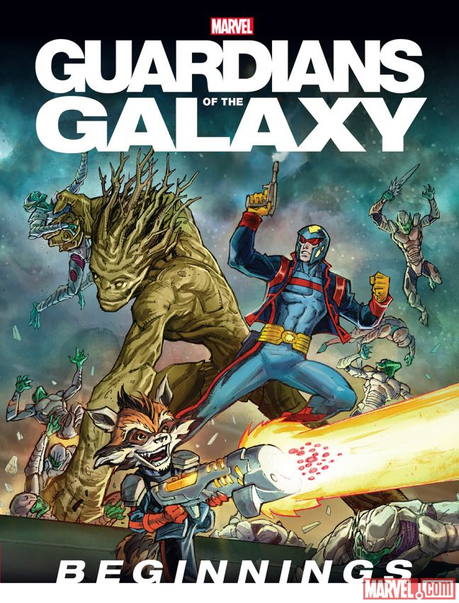 Guardians of the Galaxy - Image source and credit: Marvel Comics*