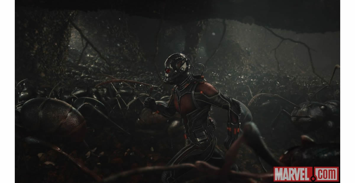 Superhero careers: Ant-Man image credit © MARVEL