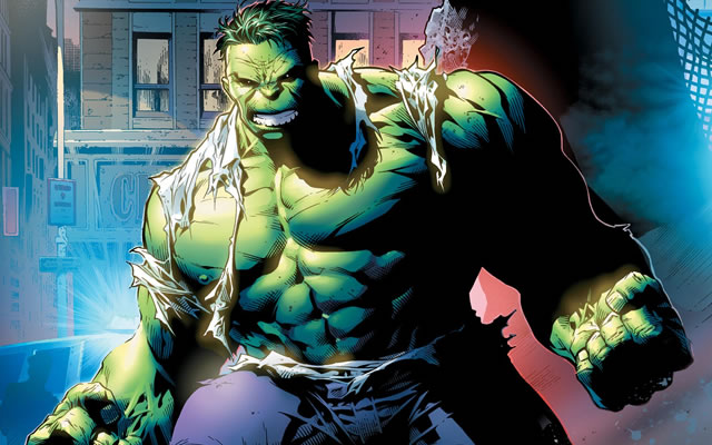 Hulk, artwork courtesy of Marvel Comics
