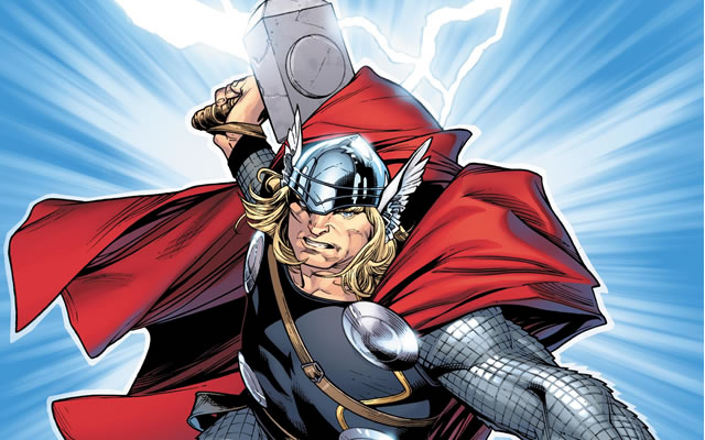 Thor, artwork courtesy of Marvel Comics