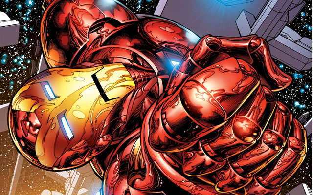 Iron Man, artwork courtesy of Marvel Comics