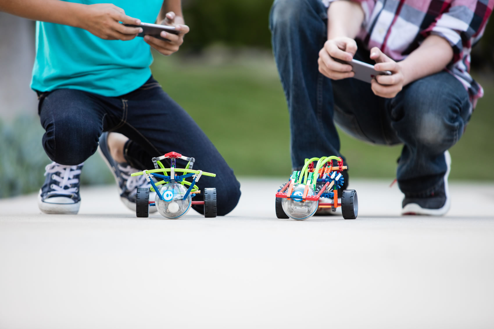 Bringing home the 'NOW' generation of Robotics - Sphero's SPRK+ - image courtesy Sphero